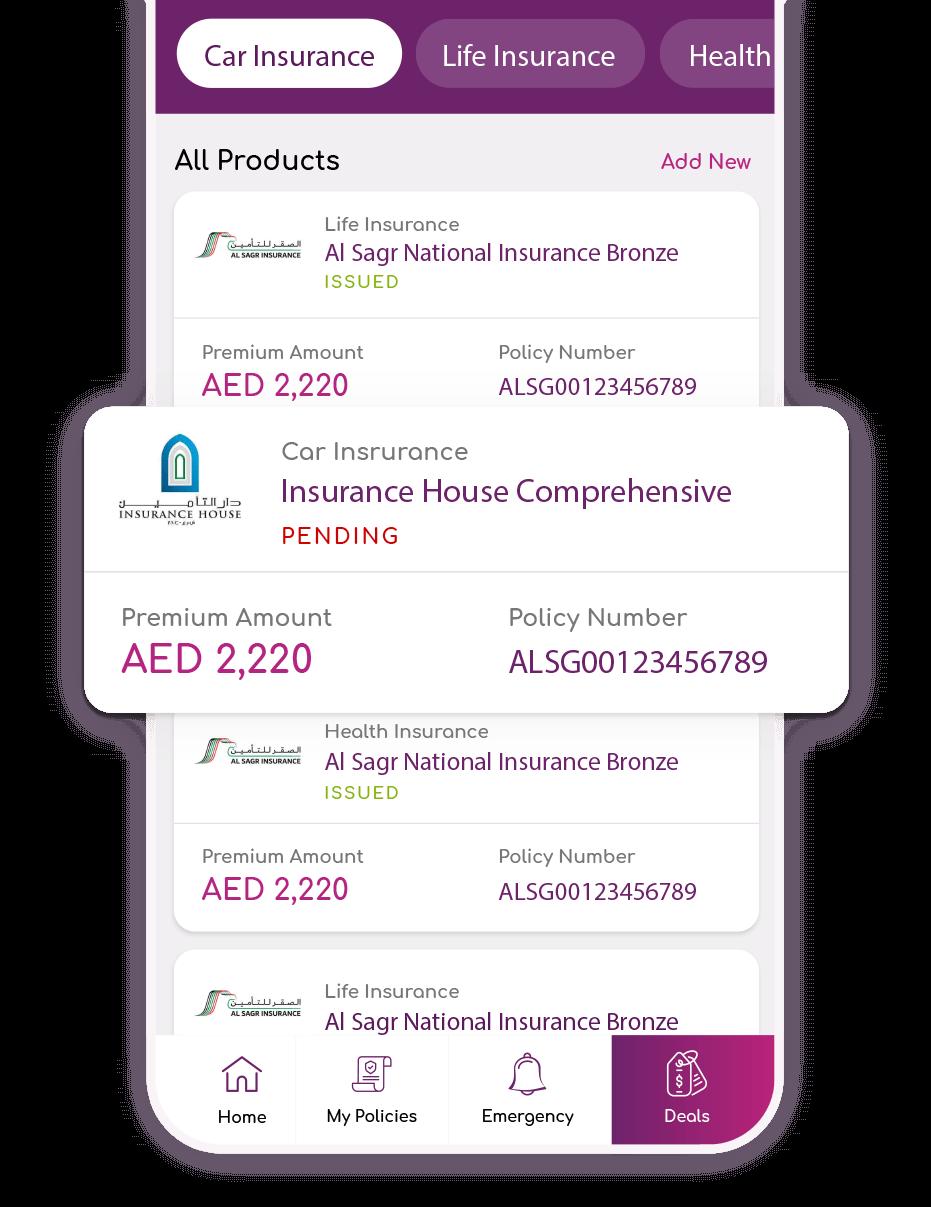 BankOnUs | Mobile App | All screen