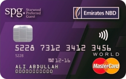 Emirates NBD StarWood Preferred Guest (spg) WorldCard