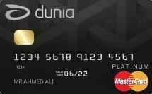 DUNIA Platinum Card