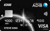 ADIB Edge Card Visa