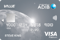 ADIB Value Card Visa