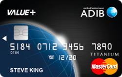 ADIB Value+ MasterCard
