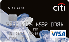 CITIBANK Citi Life Infinite Visa Card