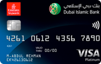 DIB Emirates Skywards Platinum