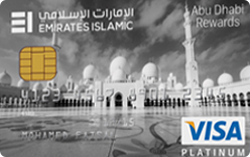 EMIRATES ISLAMIC Abu Dhabi Platinum Card