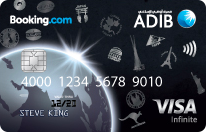 ADIB Booking.com Infinite Visa Card