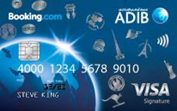 ADIB Booking.com Signature Card