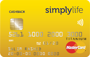 Simply Life Cashback Credit Card