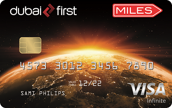 DUBAI FIRST Miles Visa Infinite Card