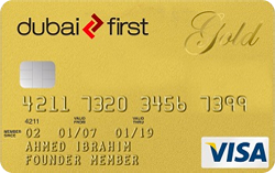 DUBAI FIRST Visa Gold Card