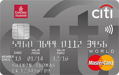 CITIBANK Emirates World Card