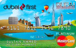 DUBAI FIRST Dubai Moments Platinum Card