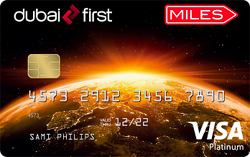 DUBAI FIRST Miles Visa Platinum Card