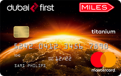 DUBAI FIRST Miles Titanium Card