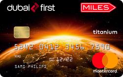 DUBAI FIRST Miles Titanium Card