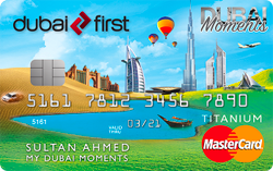 DUBAI FIRST Dubai Moments Titanium Card