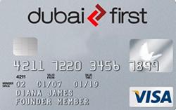 DUBAI FIRST Visa Silver Card