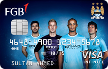 FGB Manchester City FC Infinite Card