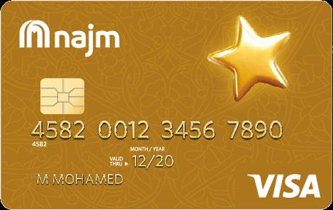 NAJM Carrefour Cashback Gold Card