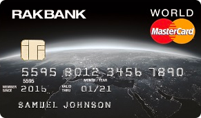 RakBank World Mastercard