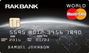 RakBank World Mastercard