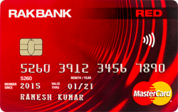 RAKBANK RED Card