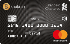 STANDARD CHARTERED Shukran World Card