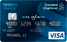 STANDARD CHARTERED Visa Infinite Card