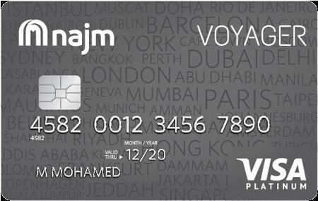 NAJM Voyager Platinum Card